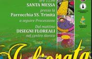 L'infiorata di Sassello, fantasia di colori e petali