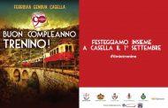 Il compleanno del trenino di Casella