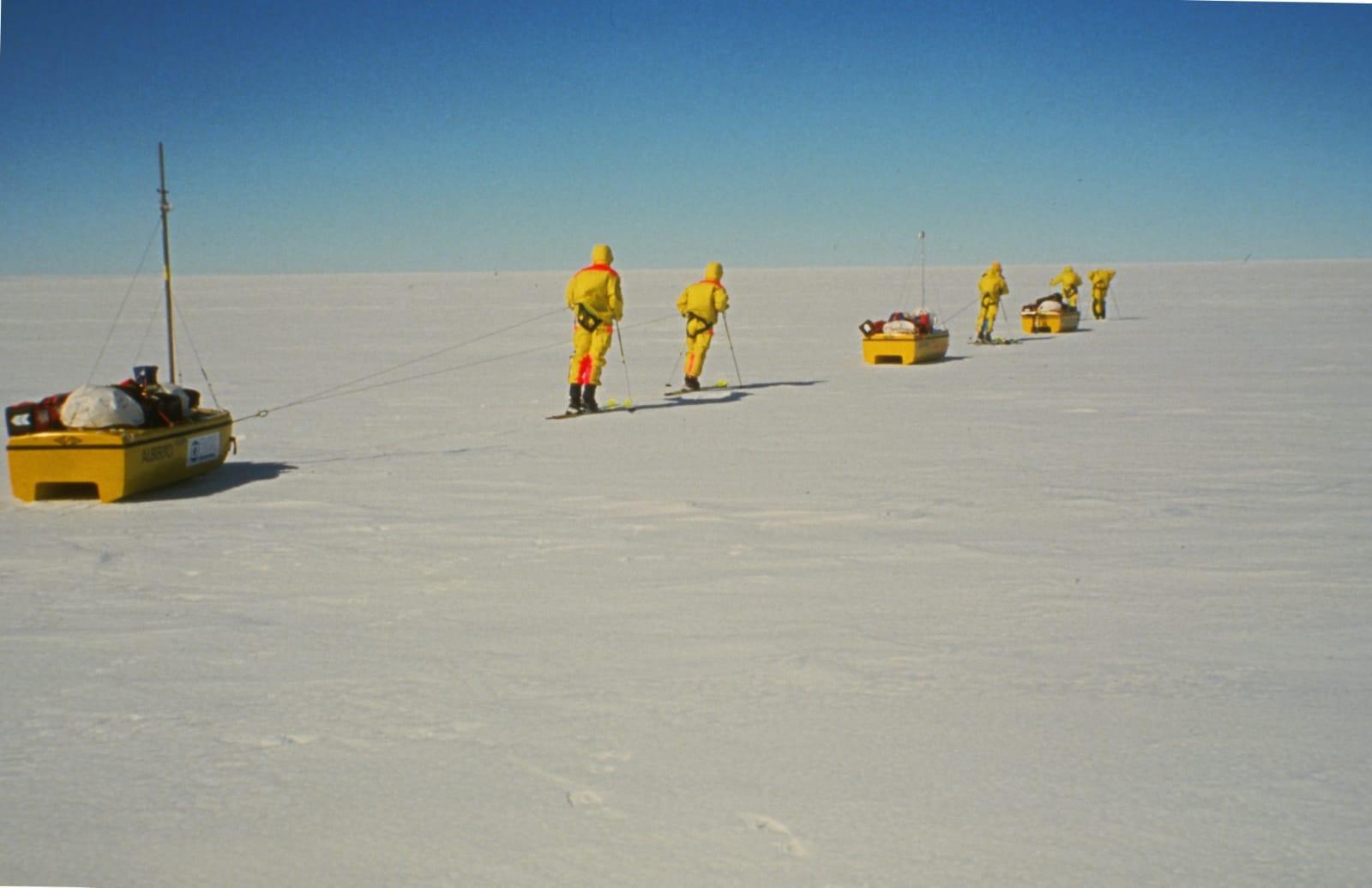 la traversata della Groenlandia con gli sci