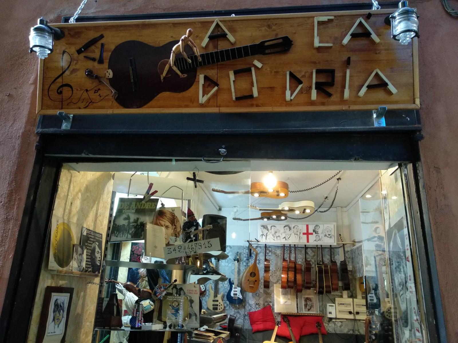 A Cà Dӧ Dria, dove musica e strumento sono padroni