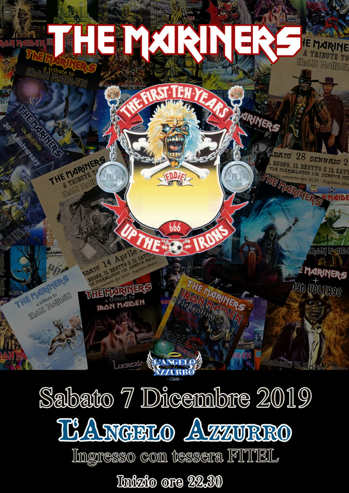 The Mariners: Iron Maiden tribute band in concerto