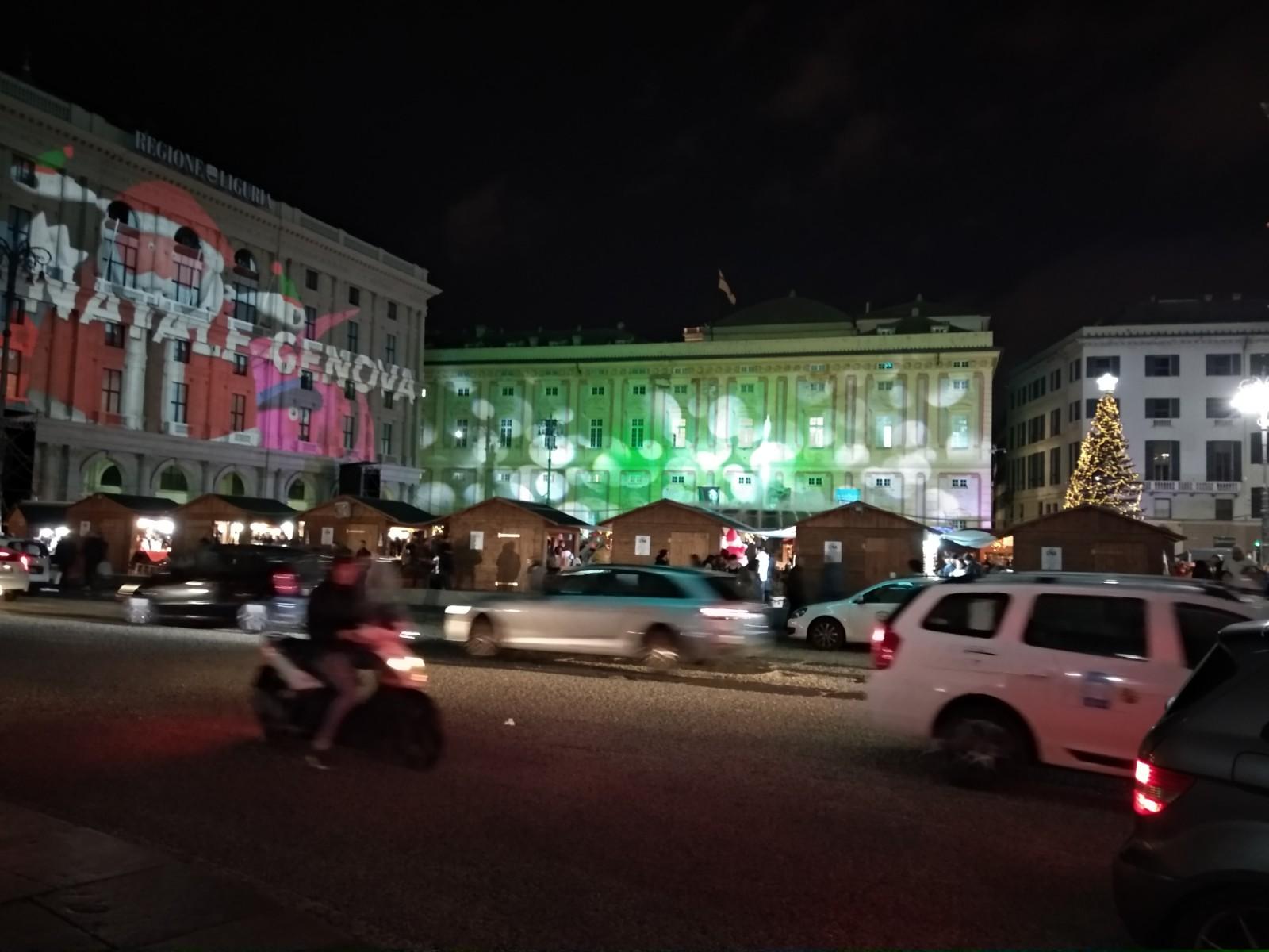 Genova... città vestita a festa!