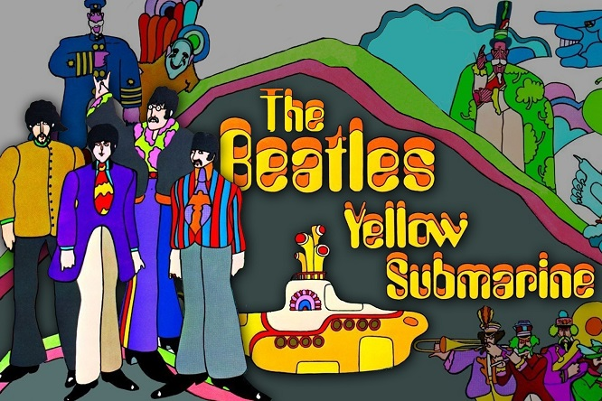 PEPPERLAND+THE BEATLES= YELLOW SUBMARINE