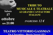 Zena Singers  , sabato 17 ottobre a Borgio Verezzi